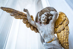 Angel in St. Mary's Basilica in Gdansk Stock Photo