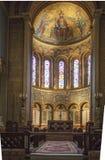 Interior St Mary and St Nicholas` Church Wilton Stock Photography
