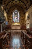Interior of St Michael and All Angels church in Hughenden, Buckinghamshire Stock Images