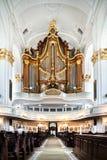 Interior of St. Michaelis church in Hamburg, Germany Stock Photos