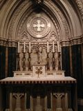 Interior of St. Patrick's Cathedral. Stock Photography