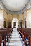 Interior St. Paul's Anglican Cathredal. Malta, Valletta, 2013 Royalty Free Stock Images