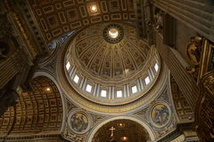 Interior of St Paul, Vatican. Stock Image