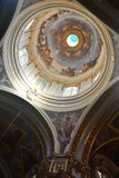 Interior of St Pauls Cathedral in Mdina, Malta. Royalty Free Stock Photos