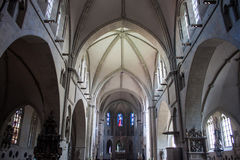 Interior of St. Paulus cathedral Royalty Free Stock Photo