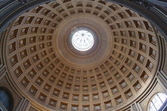 Interior of the St. Peter Basilica, Vatican royalty free stock image