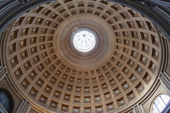 Interior of the St. Peter Basilica, Vatican Stock Image