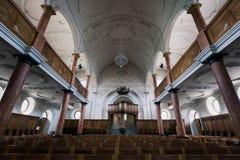 Interior of St.Peter Church. Zurich ,Switzerland Stock Photo