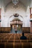 Interior of St.Peter Church. Zurich ,Switzerland Royalty Free Stock Photos