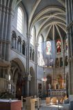 Interior of St. Peter and Paul church in Bern Royalty Free Stock Image