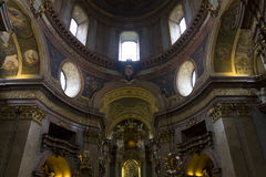 Interior of the st. Peters church in Vienna Stock Photography