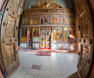 Interior of the St. Sophia Cathedral royalty free stock photography