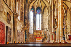 Interior St. Stephen's Cathedral(Stephansdom) Stock Photography