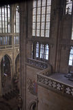 Interior of St. Vitus Cathedral Stock Images