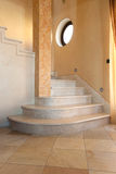 Interior staircase. Beatutful interior staircase with marble Stock Images