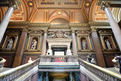 Interior staircases at the Fitzwilliam Museum Stock Images