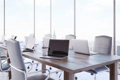 Interior startup bem sucedido do escritório ilustração stock