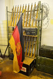 Interior of the Stasi Museum in Leipzig, Germany Royalty Free Stock Image