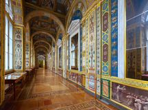 Interior of State Hermitage Stock Images