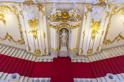 Interior of the State Hermitage, a museum of art and culture in Saint Petersburg, Russia Stock Image