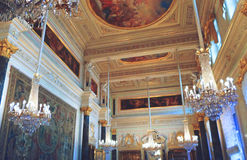 Interior of The State Hermitage Museum Royalty Free Stock Photography
