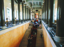 Interior of The State Hermitage Museum Stock Images