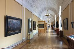 Interior of State Hermitage. Saint Petersburg Royalty Free Stock Photo