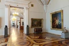 Interior of State Hermitage. Saint Petersburg Stock Photography