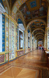 Interior of State Hermitage. Saint Petersburg Stock Images