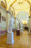 Interior of State Hermitage. Saint Petersburg Stock Photo
