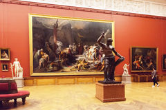 Interior of the State Russian Museum in St. Petersburg, Russia royalty free stock photos