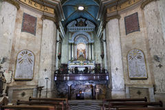 Interior of Stella Maris Church. Haifa. Israel. Royalty Free Stock Image