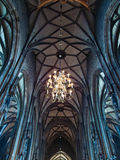 Interior of Stephansdom Royalty Free Stock Photography