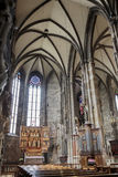 Interior of Stephansdom in Vienna Royalty Free Stock Photography