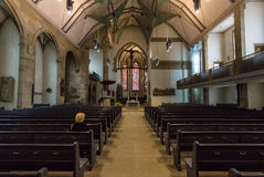 Interior of the Stiftskirche Collegiate Church Royalty Free Stock Photography