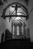 Interior of the Stiftskirche Collegiate Church Royalty Free Stock Image