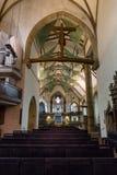 Interior of the Stiftskirche Collegiate Church Stock Photos