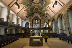 Interior of the Stiftskirche Collegiate Church Stock Photo