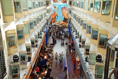 Interior of Stockholm Tallin Ferry in Baltic Sea Royalty Free Stock Photos