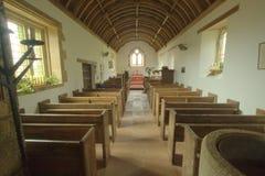 Interior of English church Royalty Free Stock Photos