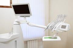 Interior of a stomatological clinic Stock Photos