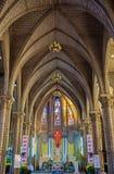 Interior of Stone Church. Nha Trang, Vietnam Stock Images