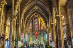 Interior of Stone Church. Nha Trang, Vietnam Stock Photography