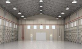 Interior storage space. Stock Image