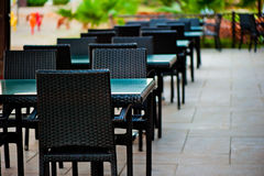 Interior street restaurant Stock Photography