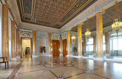 Interior of Stroganov Palace. ST.PETERSBURG, RUSSIA - AUGUST 3: Interior of Stroganov Palace in August 3, 2012 in St.Petersburg, Russia.  Palace was built to Stock Photo