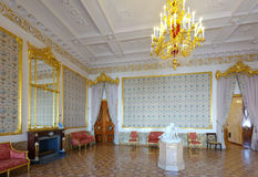 Interior of Stroganov Palace. ST.PETERSBURG, RUSSIA - AUGUST 3: Interior of Stroganov Palace in August 3, 2012 in St.Petersburg, Russia.  Palace was built to Royalty Free Stock Images