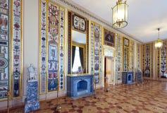 Interior of Stroganov Palace. ST.PETERSBURG, RUSSIA - AUGUST 3: Interior of Stroganov Palace in August 3, 2012 in St.Petersburg, Russia.  Palace was built to Stock Photos