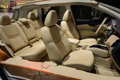 Interior structure of sedan,Nissan,2014 CDMS Stock Photos