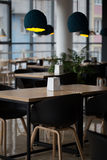The interior of the stylish cafe Stock Image